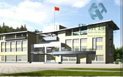 重庆江北国际机场武警营房转换层填充项目